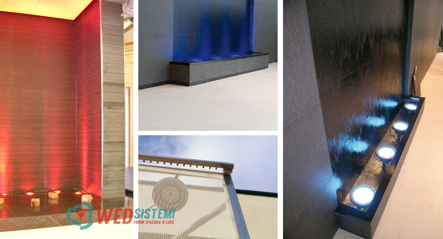 fontane per interni le pareti d 39 acqua wed sistemi srl