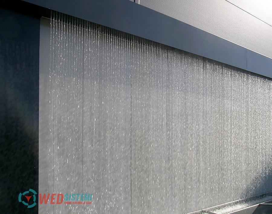 Pareti Dacqua Per Esterni : Fontane per esterni i sipari d acqua wed sistemi srl