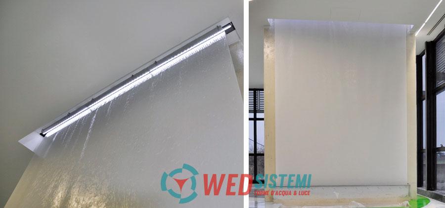 Le tende d 39 acqua sono fontane ideali per interni privati e for Fontane per interni
