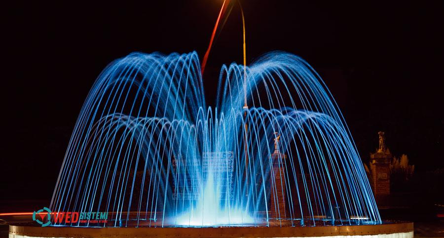 Illuminazione per fontane da giardino illuminazione outdoor